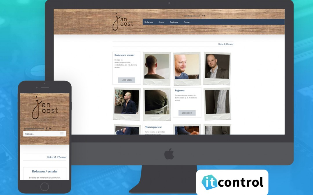 Website voor jan Joost Aten